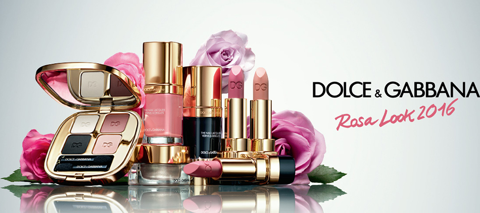 Dolce & Gabanna Rosa Makeup Collection for Spring 2016