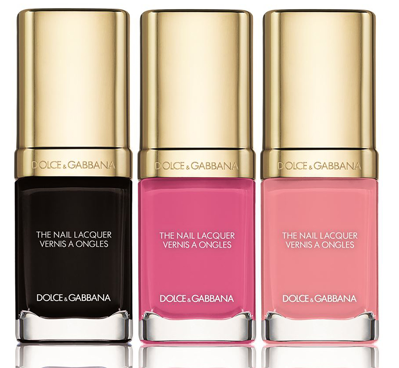 Dolce & Gabbana Rosa Makeup Collection for Spring 2016 nail lacquer
