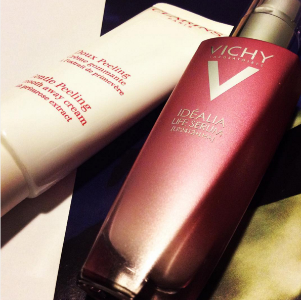 New Beauty Purchases Clarins and Vichy