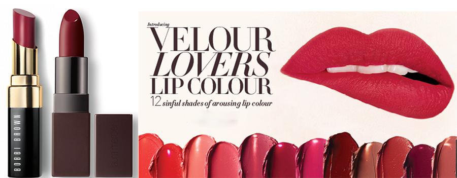 SS16 Lipsticks Bobbi Brown and Laura Mercier