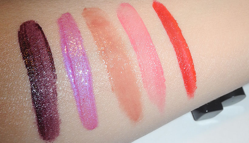A week in lipsticks Makeup4all swatches