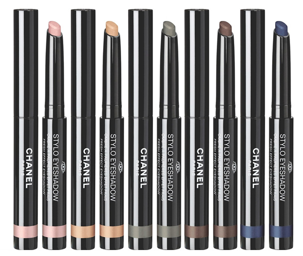 Chanel Stylo eye shadows spring 2016