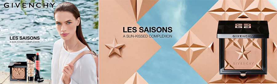 Givenchy Les Saisons Makeup Collection for Summer 2016 promo