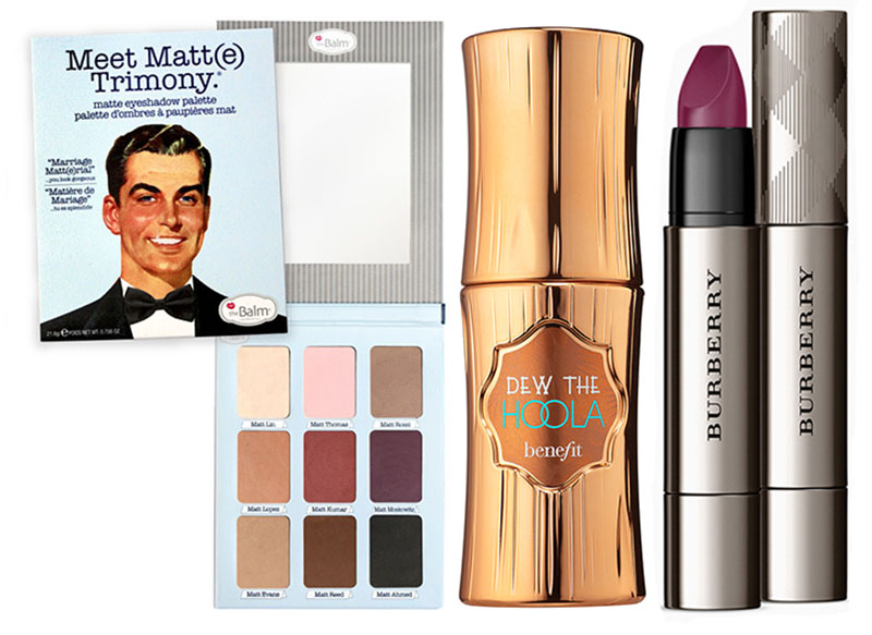SS16 New Beauty Products Burberry, theBalm and Benefit