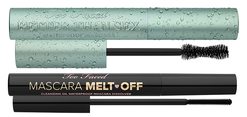 Too Faced Makeup Collection for Summer 2016 mascara and mascara melt off