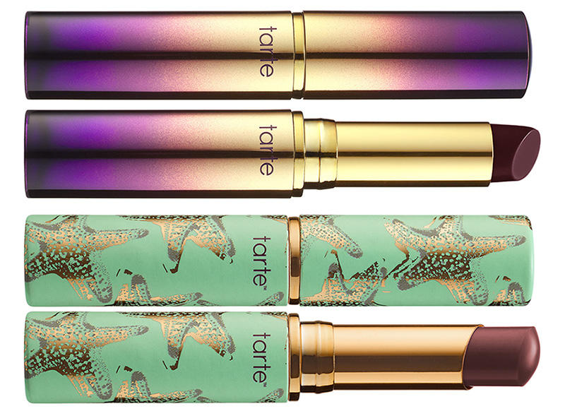 tarte Raiforest of the Sea Makeup Collection for Summer 2016 lipsticks