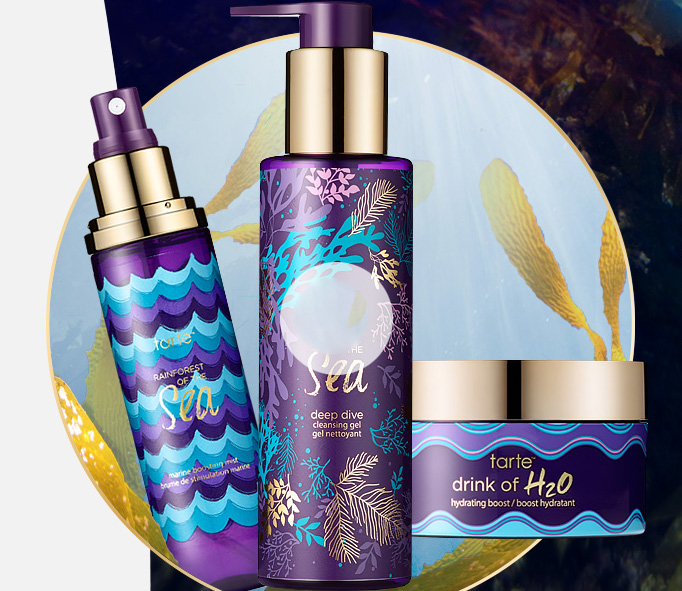tarte Raiforest of the Sea Makeup Collection for Summer 2016 skincare