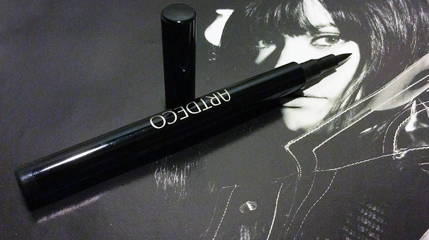 ArtDeco Long Lasting Liquid Liner 01 Black Review and Swatches