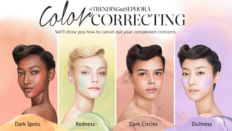 Colour Correcting SS2016 beauty trend
