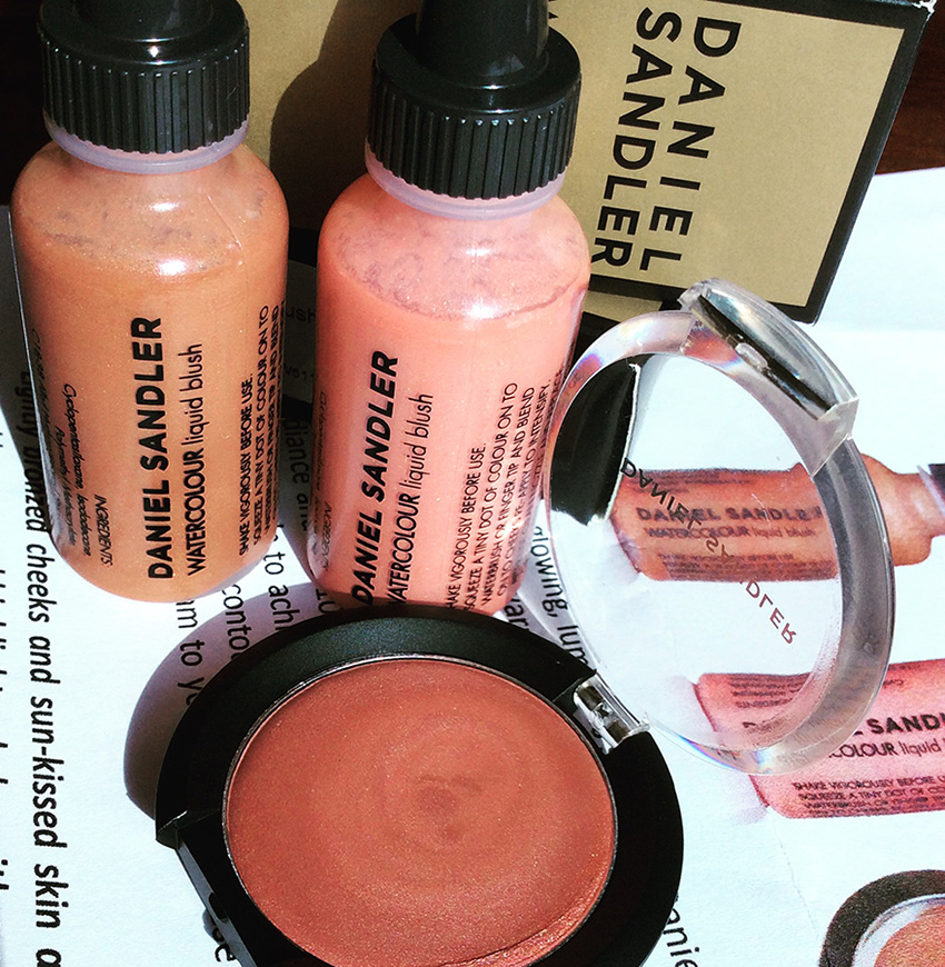 Daniel Sandler Bronze And Glow Watercolour Blushers Review and Swatches 1