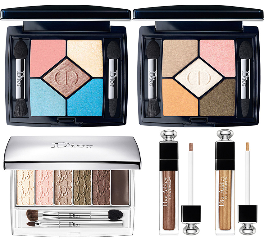 Dior Milky Dots Makeup Collection for Summer 2016 eye products