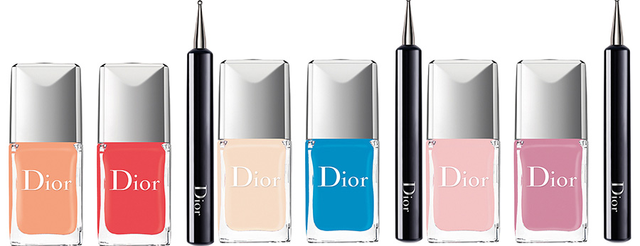 Dior Milky Dots Makeup Collection for Summer 2016 vernis polka dots