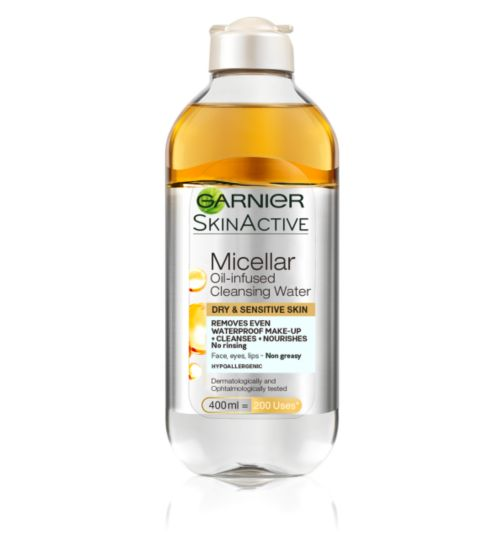Garnier SkinActive Oil-Infused Micellar Cleansing Water