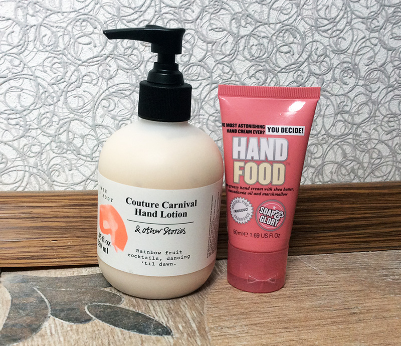 Hand Creams Soap and Glory Hand Food and & Other Stories Couture Carnival Hand Lotion