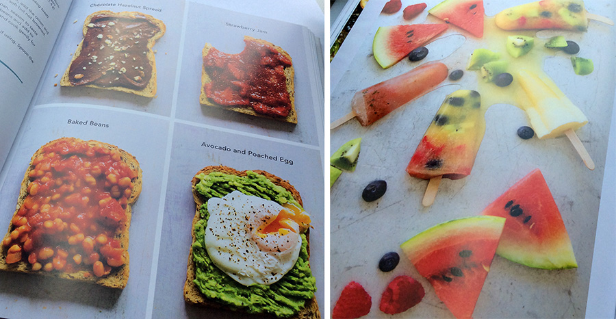 Hungry Happy Healthy by Dannii Martin Book Review photographs