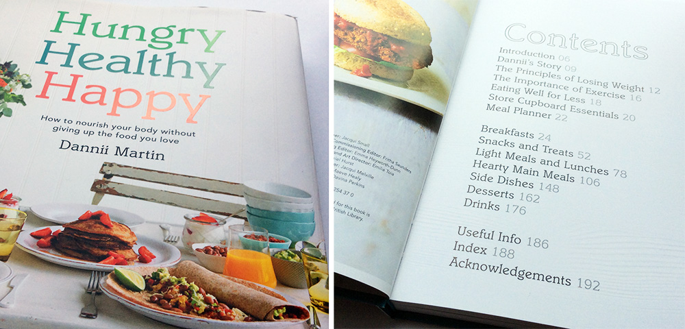 Hungry Happy Healthy by Dannii Martin Book Review