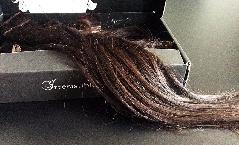 Irresistible Me Hair Extensions Review open