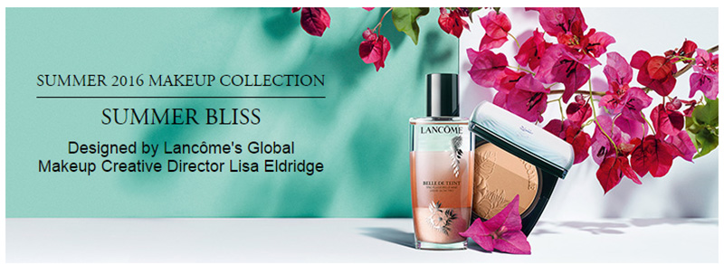 Lancome Summer Bliss Makeup Collection for Summer 2016 promo
