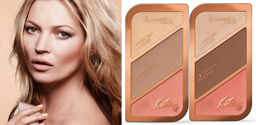 Rimmel Sculpting & Highlighting Kit Kate Moss