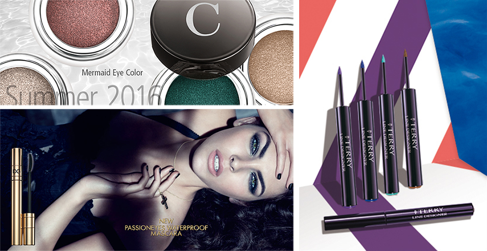 SS16 Luxury Eye Products byTerry, Chantecaille and Dolce & Gabbana