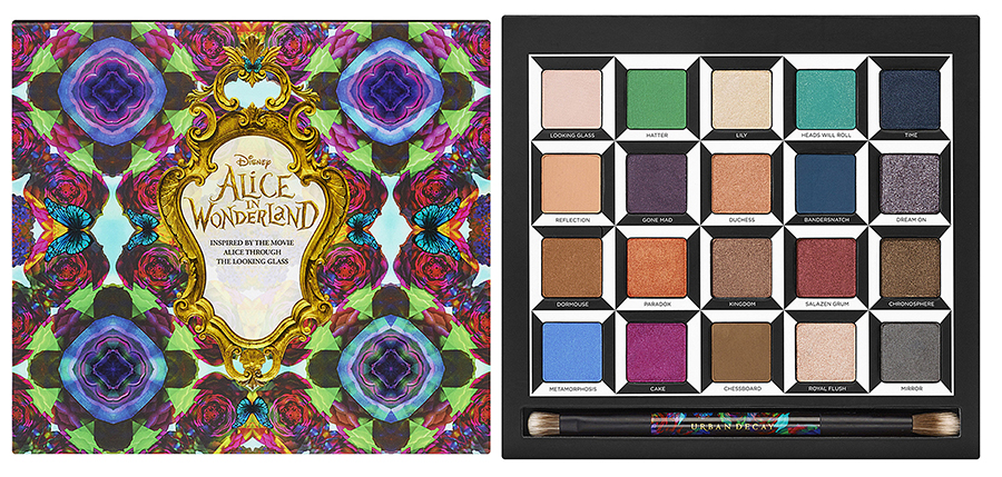 Urban Decay Alice Through the Looking Glass palette summer 2016