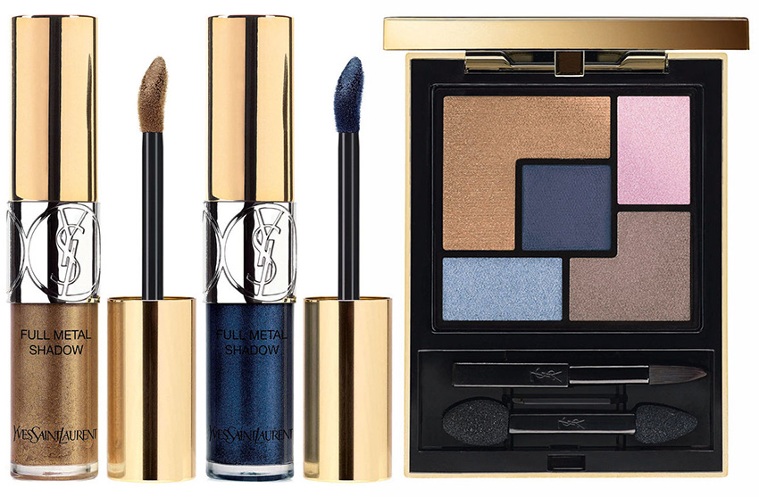 YSL Savage Escape Makeup Collection for Summer 2016 eye shadows