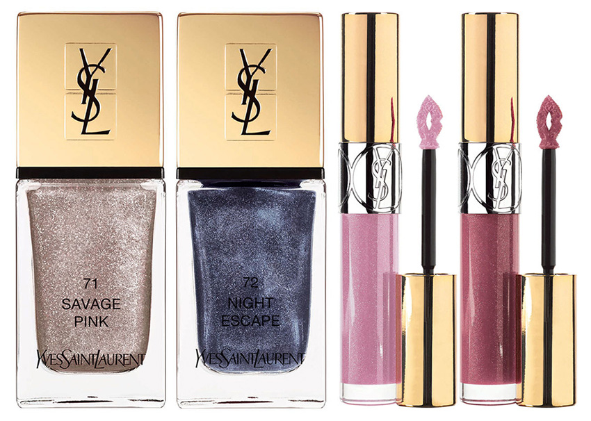 YSL Savage Escape Makeup Collection for Summer 2016 nail polish and lip gloss