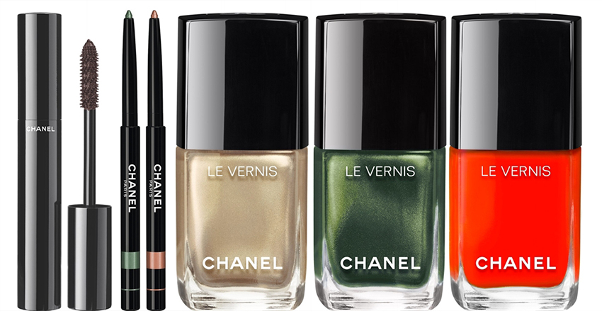 Chanel Dans La Lumiere de L'ete Makeup Collection for Summer 2016 eye and nail products
