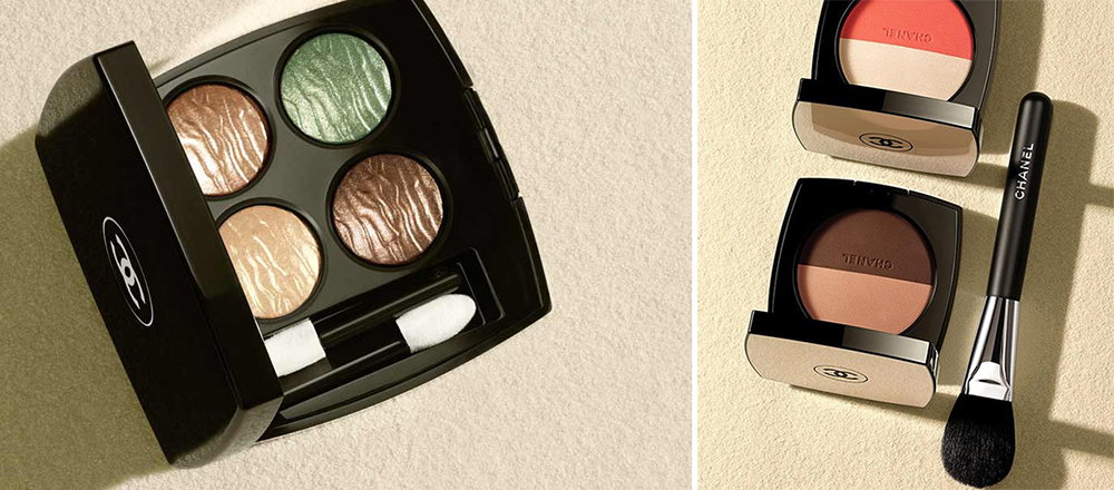 Chanel Dans La Lumiere de L'ete Makeup Collection for Summer 2016 eye palette and duo blushers