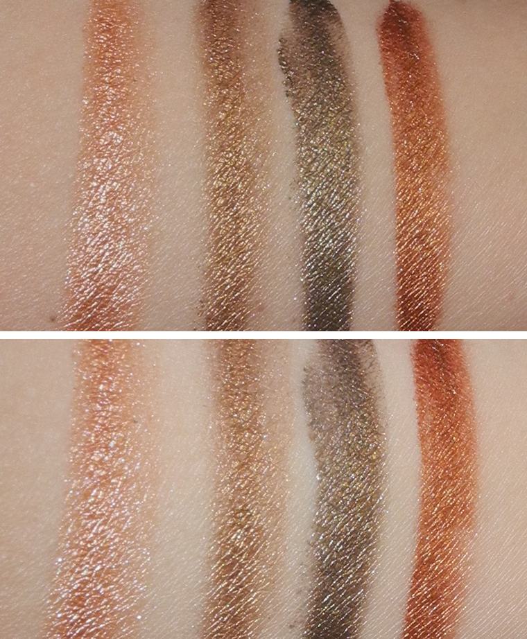 Clarins Waterproof Eyeshadow Shimmering Cream Colour Review and Swatches 2