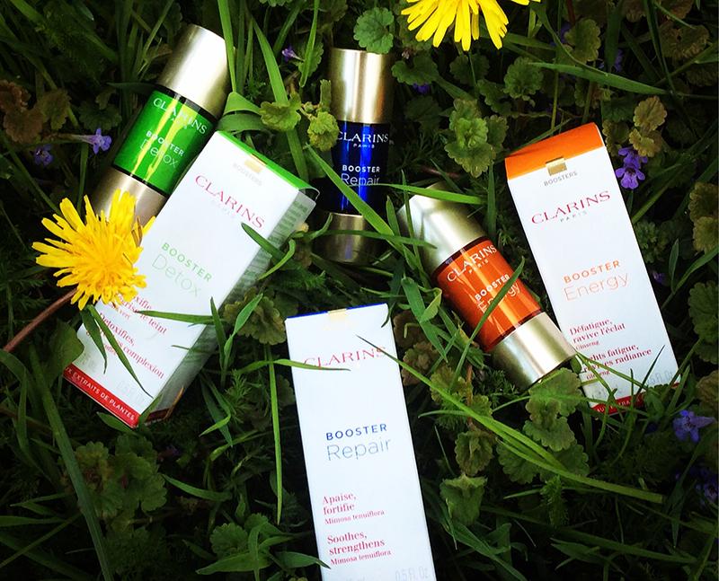 Clarins skincare Boosters Energy Repair Detox 1