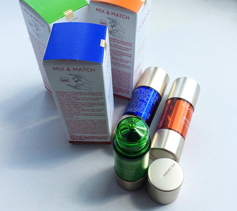 Clarins skincare Boosters Energy Repair Detox