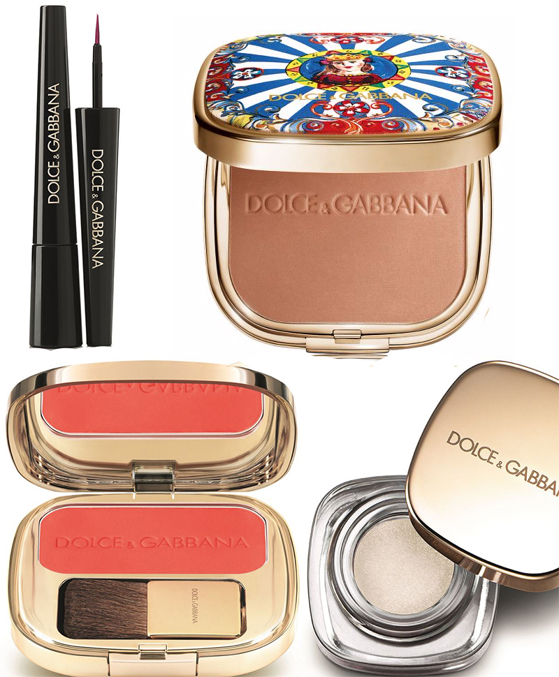 Dolce & Gabbana Makeup Collection for Summer 2016 face and bronzer