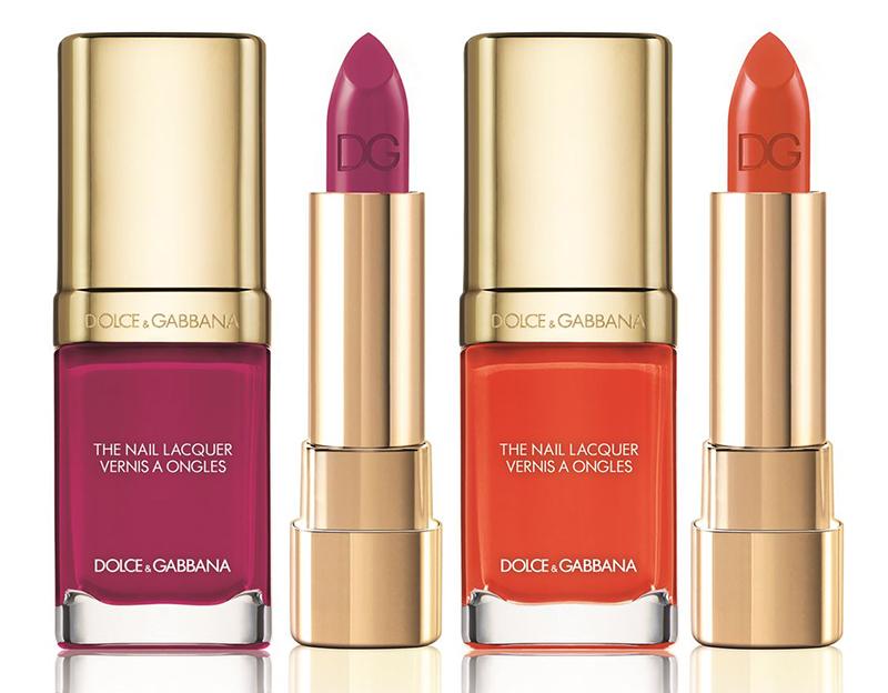 Dolce & Gabbana Makeup Collection for Summer 2016 orange and crimson
