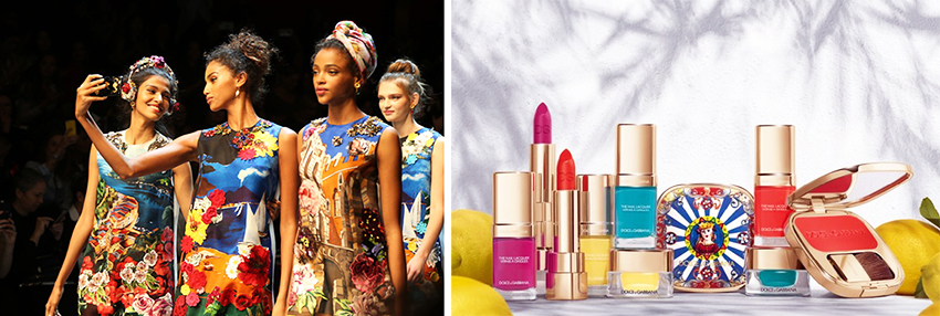 Dolce & Gabbana Makeup Collection for Summer 2016 promo