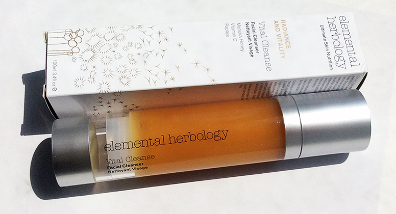 Elemental Herbology Vital Cleanse Facial Cleanser Review