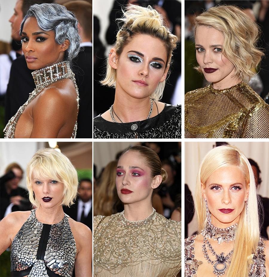 Futurisctic makeup Manus ex Machina Makeup4all Met Gala