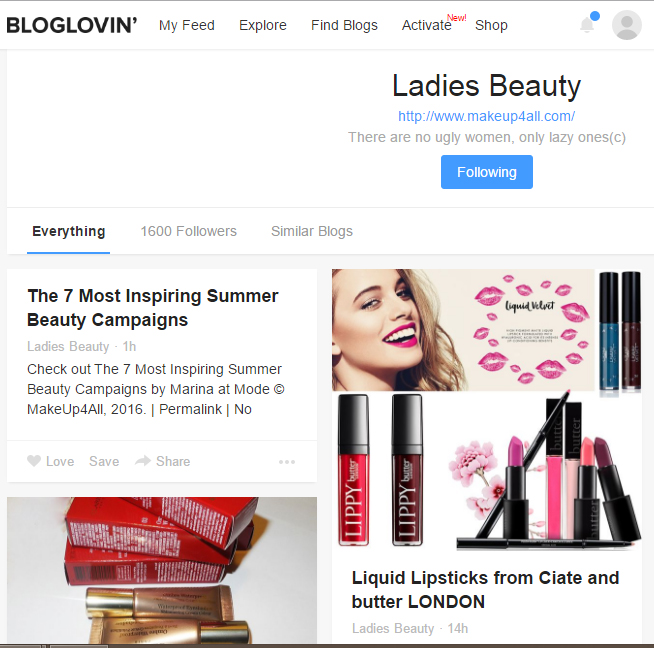 Makeup4all Ladies Beauty Bloglovin
