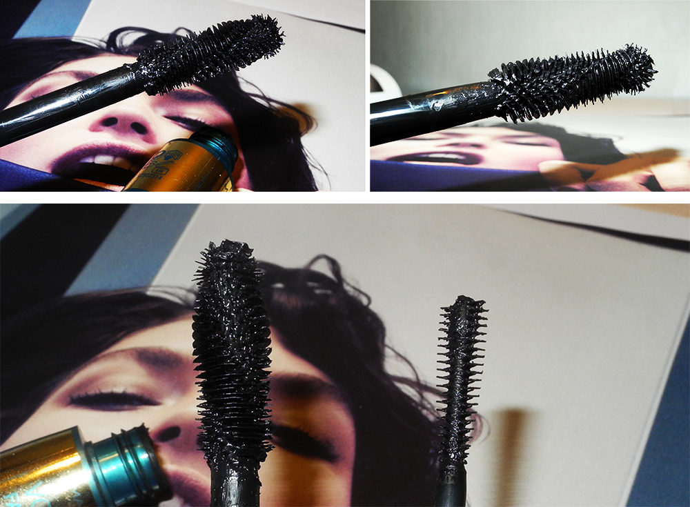 Max Factor Voluptuous False Lash Effect Mascara Review brush