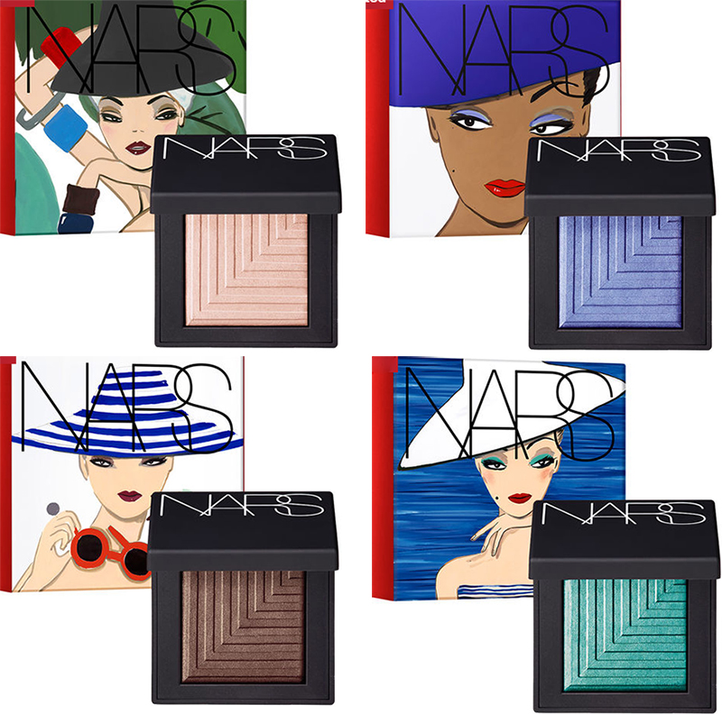 NARS Under Cover Makeup Collection for Summer 2016 Dual Intensity Eye Shadows