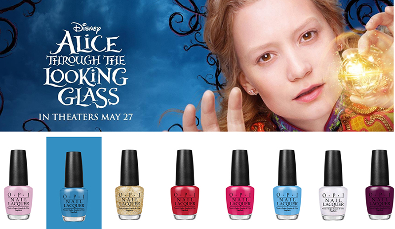 OPI Alice Through the Looking Glass nail polish collection summer 2016