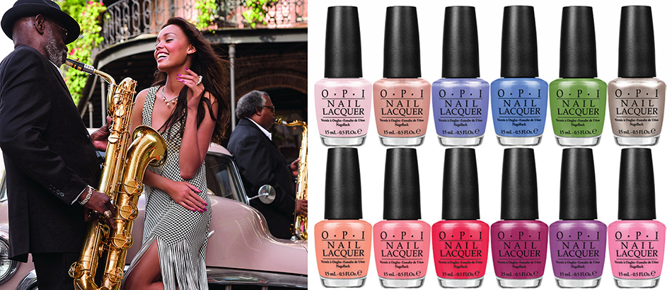 OPI New Orleans nail polish collection for summer 2016