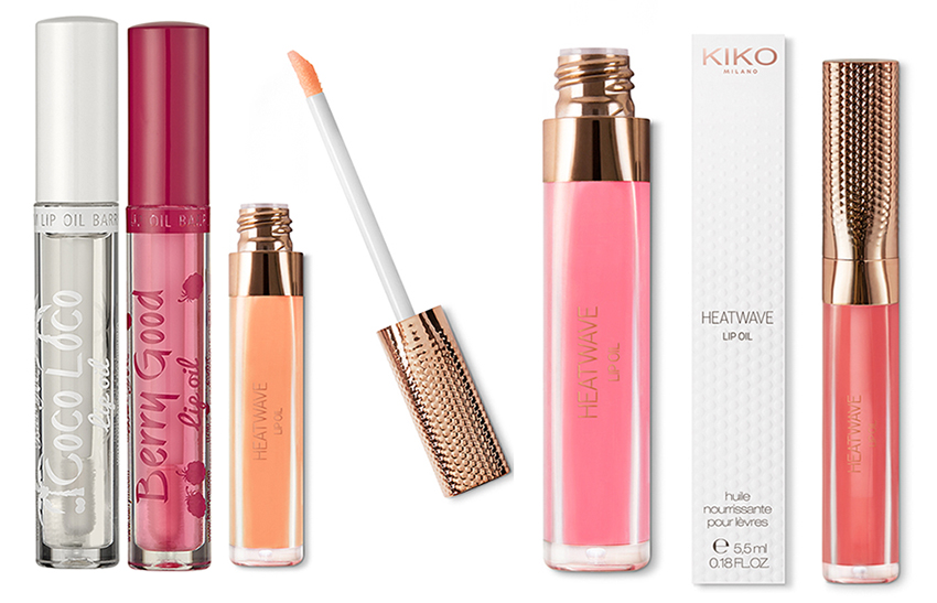 SS16 Budget Lip Oils Kiko and Barry M