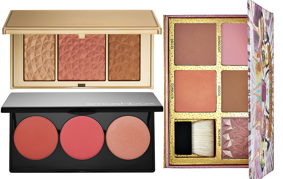SS16 Cheek Products Estee Lauder, Smashbox and Benefit