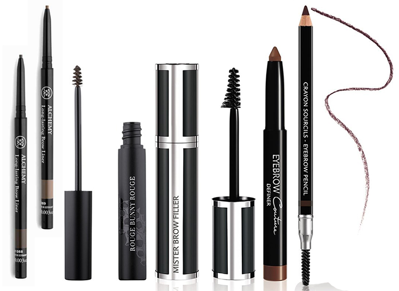 SS16 Eye Brows Products Rouge Bunny Rouge, Givenchy gel and pencils