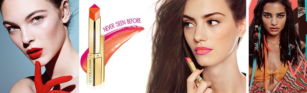 SS16 New Lipsticks Armani, MAC and Collistar promo photos