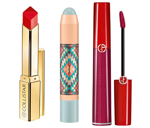 SS16 New Lipsticks Armani, MAC and Collistar