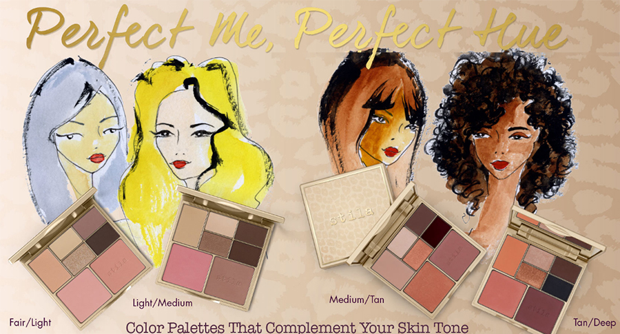 Stila Perfect Me, Perfect Hue Eye & Cheek Palette summer 2016