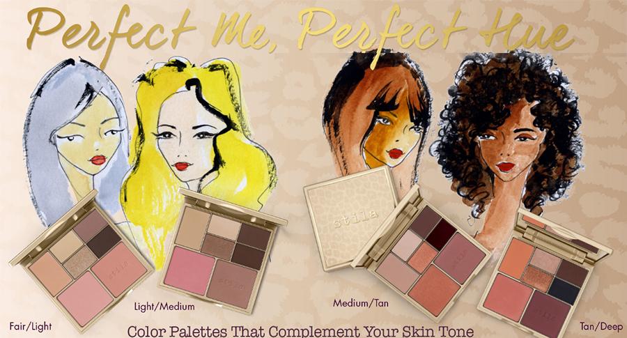 Stila Perfect Me, Perfect Hue Eye & Cheek Palette summer 2016
