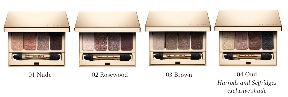 Clarins 4-Colour Eyeshadow Palettes Autumn 2016